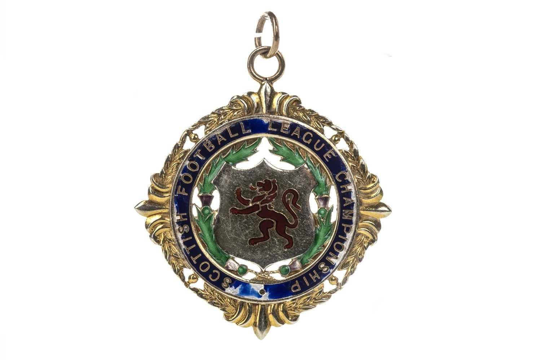 Lot 1737 - JIM BROGAN OF CELTIC F.C. - HIS SCOTTISH FOOTBALL LEAGUE CHAMPIONSHIP MEDAL 1967/68