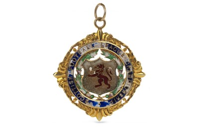 Lot 1739 - JIM BROGAN OF CELTIC F.C. - HIS SCOTTISH FOOTBALL LEAGUE CHAMPIONSHIP MEDAL 1969/70