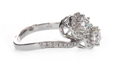 Lot 890-A DIAMOND TWIST RING
