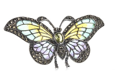 Lot 904-A PLIQUE A JOUR BUTTERFLY BROOCH