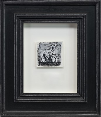 Lot 515-PIGALLE, AN INK AND SCRAPER BOARD BY JOHN BYRNE