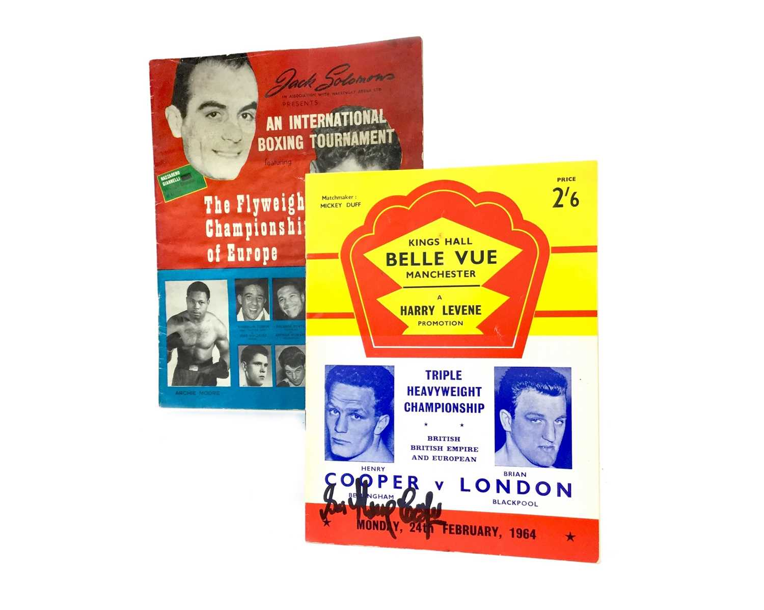 Lot 1759 - A COLLECTION OF 20TH AND 21ST CENTURY BOXING PROGRAMMES