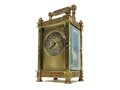 Lot 1103-AN EARLY 20TH CENTURY CARRIAGE CLOCK