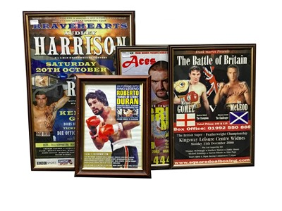 Lot 1762 - A LARGE COLLECTION OF CONTEMPORARY BOXING POSTERS