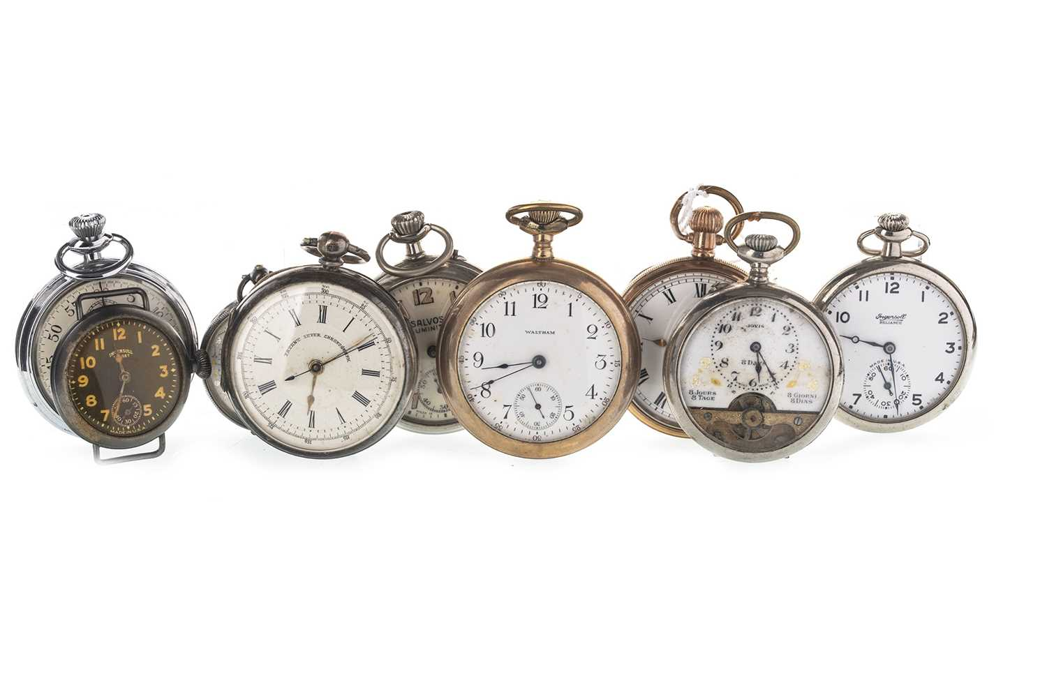 Lot 715-A COLLECTION OF POCKET WATCHES
