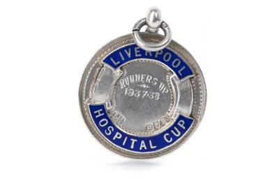 Lot 25-A LIVERPOOL HOSPITAL CUP SILVER MEDAL 1938