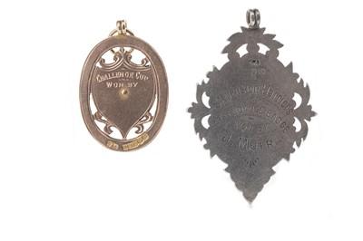 Lot 1769 - AN AYRSHIRE JUNIOR FOOTBALL ASSOCIATION MEDAL 1917