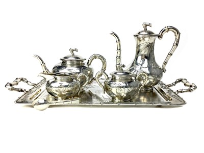 Lot 724-A CHINESE SILVER TEA AND COFFEE SERVICE