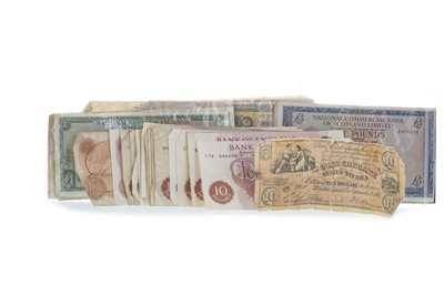 Lot 16-A COLLECTION OF BANKNOTES