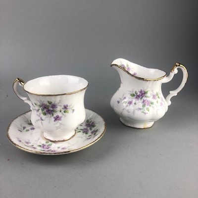 Lot 7-A PARAGON PART TEA SRVICE ALONG WITH OTHER TEA WARE