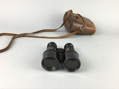Lot 19-A LOT OF THREE PAIRS OF BINOCULARS