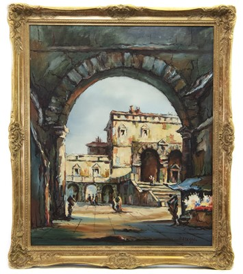 Lot 426-INTO THE BAZAAR, A CONTINENTAL OIL