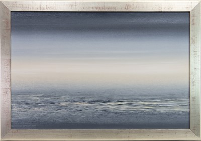 Lot 527-SEASCAPE, AN OIL BY DAVID JOY