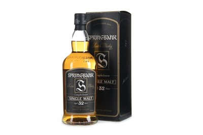 Lot 16-SPRINGBANK AGED 32 YEARS