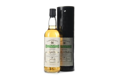 Lot 9-CONVALMORE-GLENLIVET CADENHEADS AGED 26 YEARS