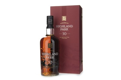 Lot 11-HIGHLAND PARK 30 YEARS OLD