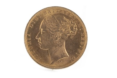 Lot 2-A QUEEN VICTORIA (1837 - 1901) GOLD SOVEREIGN DATED 1881