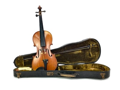 Lot 1167 - A 19TH CENTURY COPY OF A VUILLAUME VIOLIN