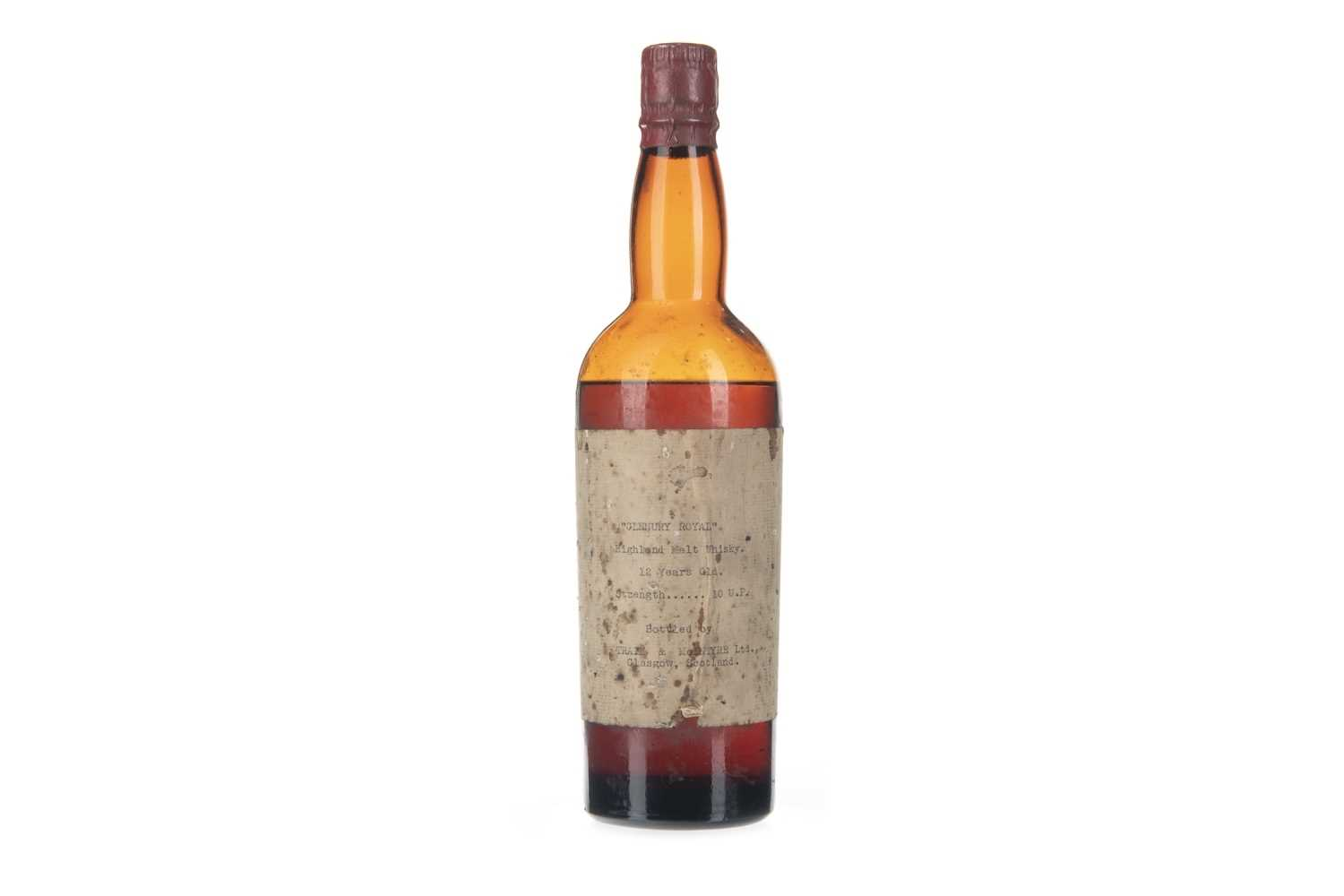 Lot 24-GLENURY ROYAL 12 YEARS OLD TRAIN & MCINTYRE BOTTLING