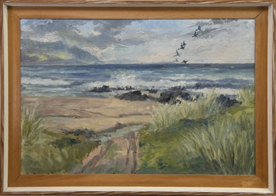Lot 427-MACHRIHANISH, ARGYLL, AN OIL BY JOHN CRAWFORD
