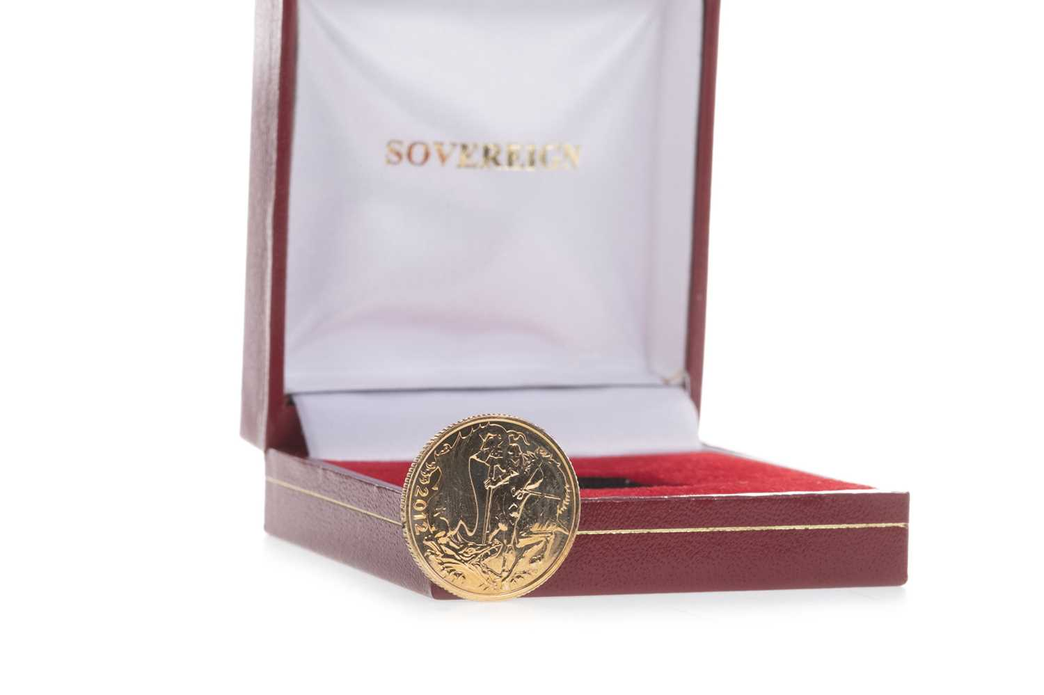 Lot 24-A QUEEN ELIZABETH II (1952 – PRESENT) GOLD SOVEREIGN DATED 2012