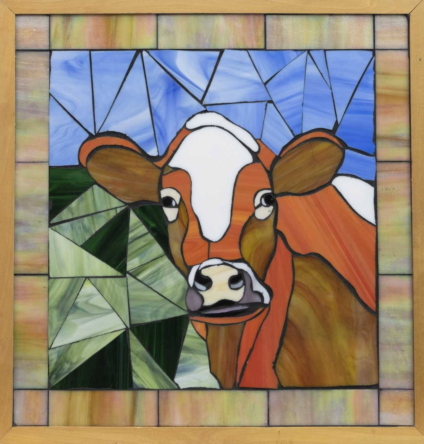 Lot 517-A HAPPY COW, BY G RHODES