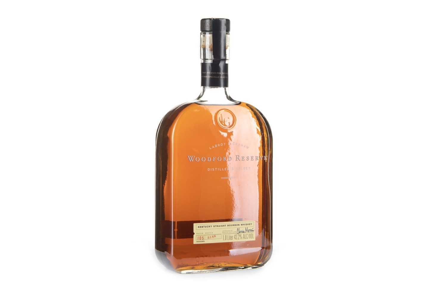 Lot 412-WOODFORD RESERVE ONE LITRE
