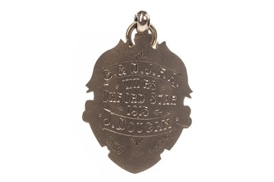 Lot 1702 - AN EARLY 20TH CENTURY G.&D.J. F.A. WINNERS GOLD MEDAL