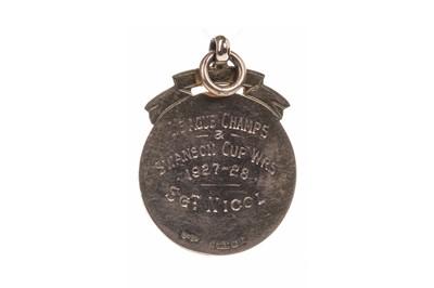 Lot 1705 - AN ABERDEEN & DISTRICT JUVENILE LEAGUE CHAMPIONS & SWANSON CUP WINNERS GOLD MEDAL 1928
