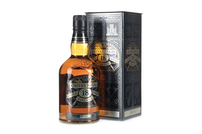 Lot 402-CHIVAS REGAL RARE OLD 18 YEARS OLD