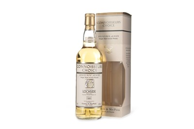 Lot 43-LOCHSIDE 1991 CONNOISSEURS CHOICE