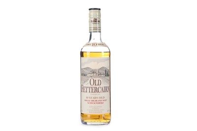 Lot 273-OLD FETTERCAIRN 10 YEARS OLD - LOW FILL