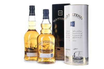 Lot 272-TWO BOTTLES OF OLD PULTENEY 12 YEARS OLD