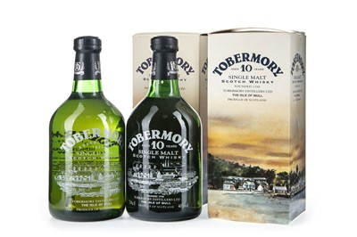Lot 261-TWO BOTTLES OF TOBERMORY