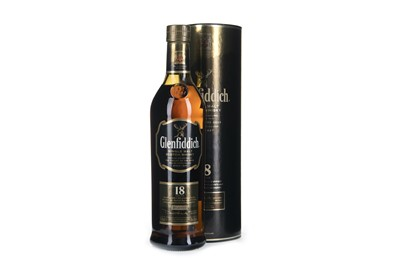 Lot 257-GLENFIDDICH 18 YEARS OLD
