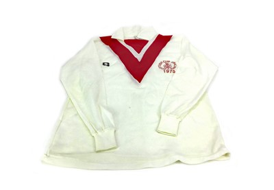 Lot 1772 - AIRDRIE F.C. INTEREST - A MATCHWORN JERSEY FROM THE SCOTTISH CUP FINAL 1975
