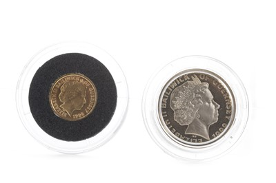 Lot 13-TWO GUERNSEY COINS