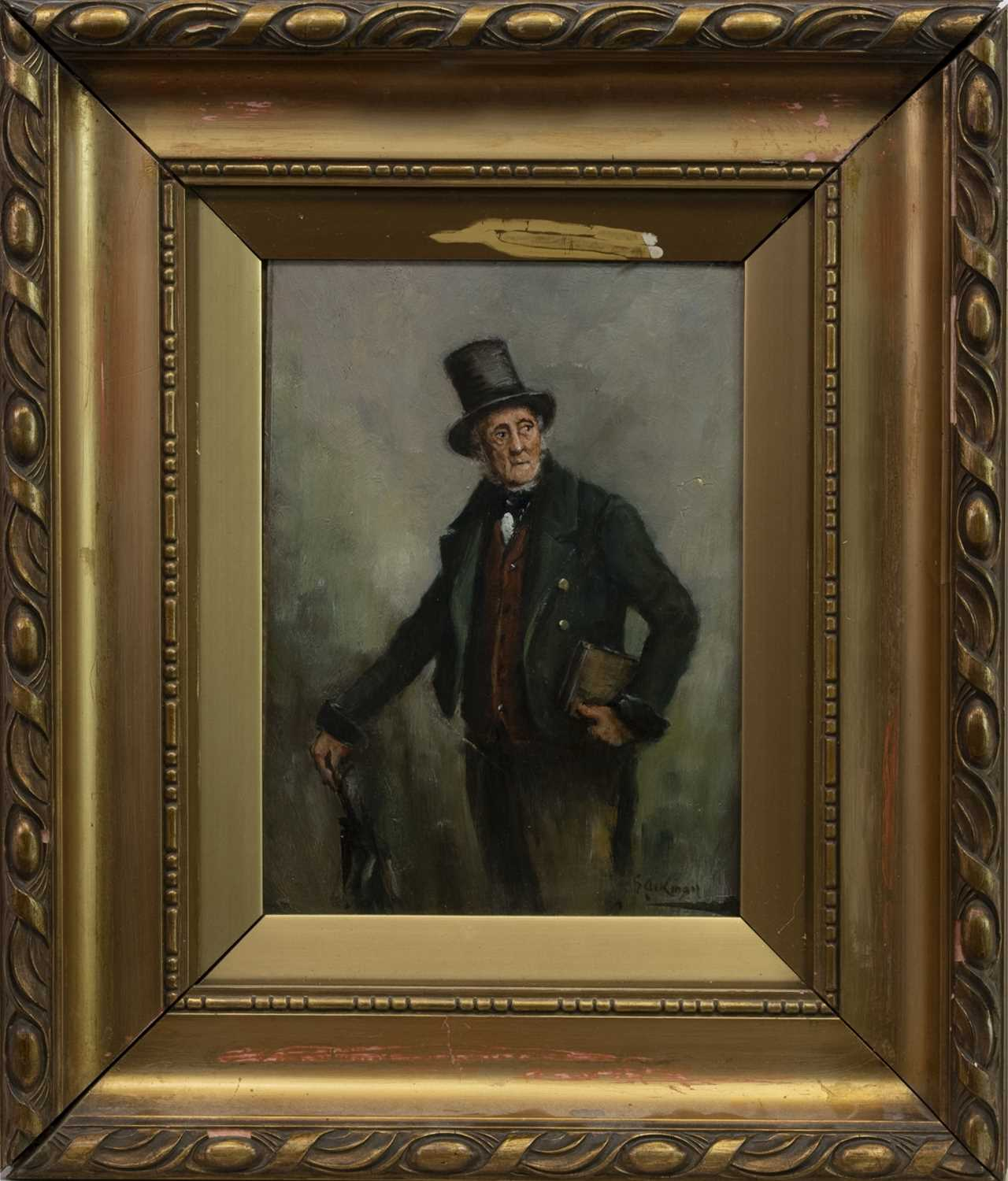 Lot 68 - PORTRAIT OF A GENTLEMAN, AN OIL BY GEORGE AIKMAN