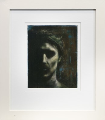 Lot 575-SOUNDLESS, A MIXED MEDIA BY ROS GREEN