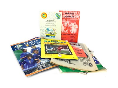 Lot 1749 - A COLLECTION OF 20TH CENTURY FOOTBALL PROGRAMMES