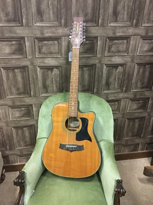 Lot 1176 - A TANGLEWOOD 12-STRING ELECTRIC-ACOUSTIC GUITAR