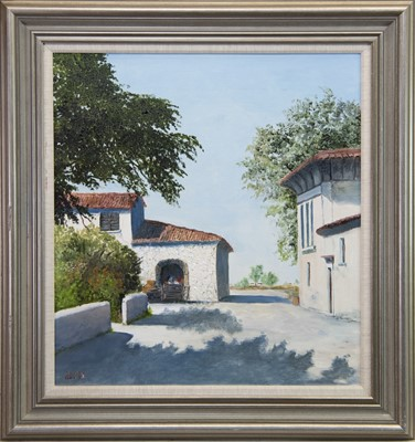 Lot 415-EMPOLI, NEAR FLORENCE, AN OIL BY MOLLY ADDIS