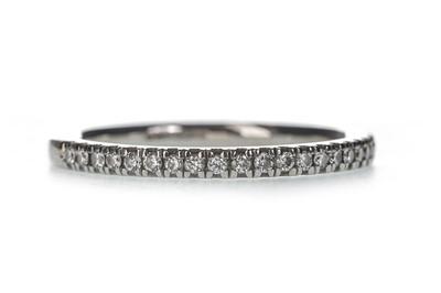 Lot 337-A DIAMOND HALF ETERNITY RING