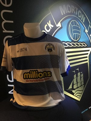 Lot 21-BILLY KING'S HOME JERSEY