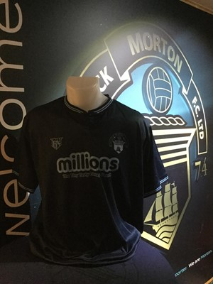 Lot 23-A UNIQUE PROTOTYPE 3RD KIT JERSEY