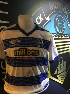 Lot 25-ANDY MURDOCH'S MORTON IN THE COMMUNITY COMMEMORATIVE JERSEY