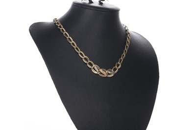 Lot 344-TWO GOLD NECKLACES