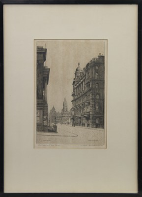 Lot 418-MERCHANT'S HOUSE, GLASGOW, AN ETCHING BY APPLEBY