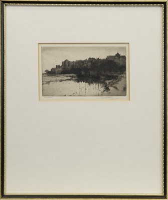 Lot 419-EVENING RYE, SUSSEX, AN ETCHING BY REGINALD GREEN