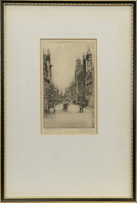 Lot 420-THREE ETCHINGS OF GLASGOW